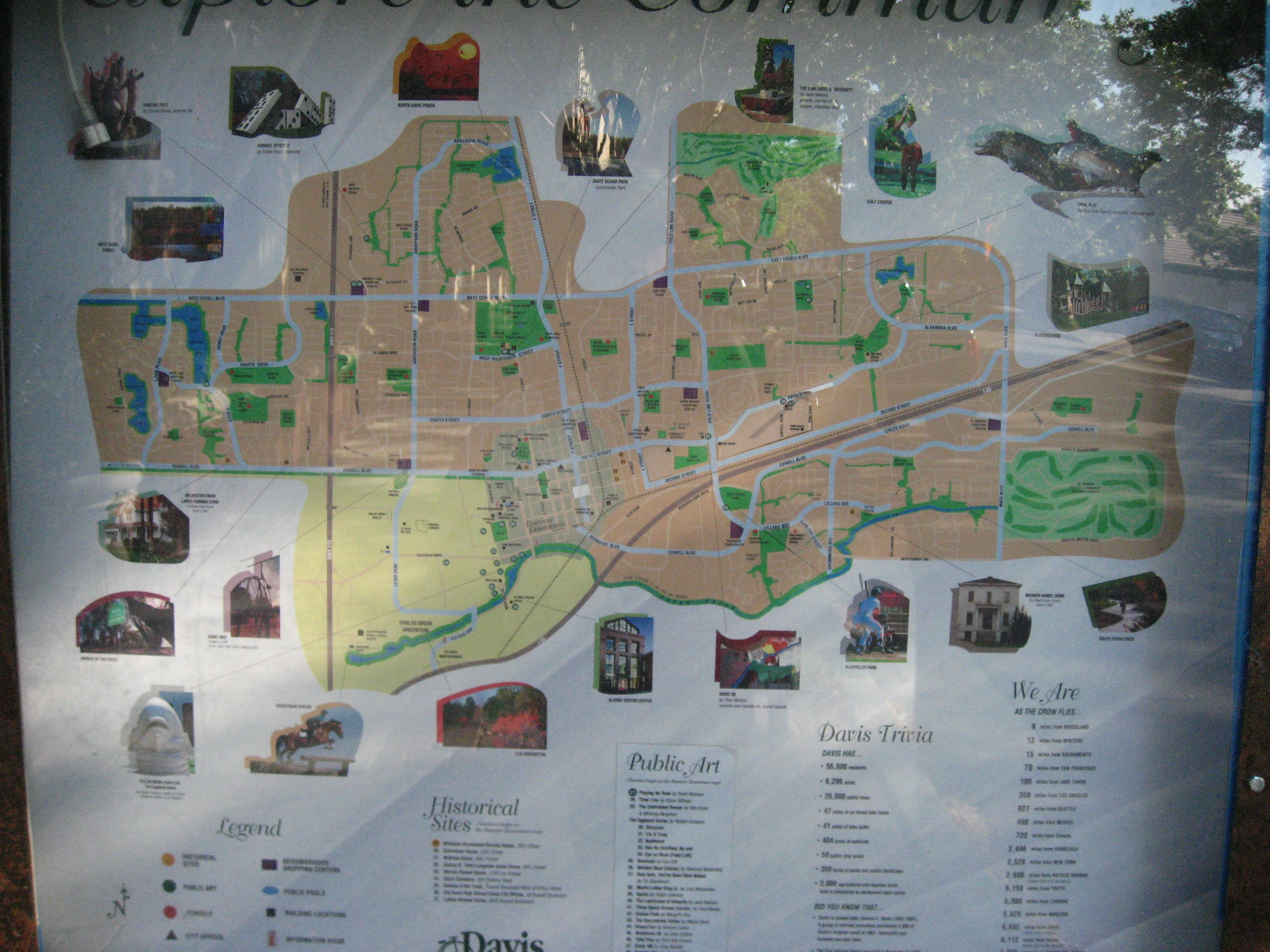 Community Map in Davis, California